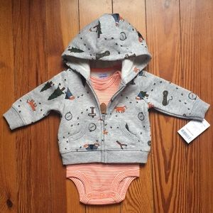 Other - NB Onesie with Jacket